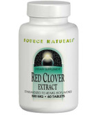 Red Clover Extract 500 mg 60 Tabs Source Naturals, UK