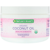 Buy Organic Coconut Oil 7oz Nature's Bounty Online, UK Delivery, Sunburn Sun Protection