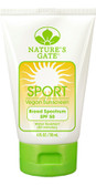 Buy Sport Vegan Sunscreen Lotion SPF 50 Fragrance-Free 4 oz (118 ml) Nature's Gate Online, UK Delivery, Sunburn Sun Protection Sunscreens