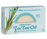 Buy Purifying Cleansing Bar Energizing Tea Tree Oil 3.5 oz (100 g) Nature's Plus Online, UK Delivery,