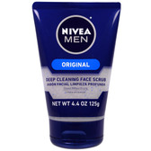 Energy Face Scrub for Men 4.4 oz (125 g) Nivea, UK Store