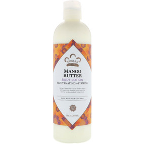 Buy Mango Butter Lotion With Shea Butter & Vitamin C 13 oz (384 ml) Nubian Heritage Online, UK Delivery, Body Lotion