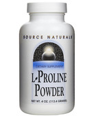 L-Proline, 4 oz, Source Naturals