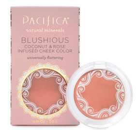 Buy Blushious Coconut & Rose Infused Cheek Color Camellia 0.10 oz (3.0 g) Pacifica Online, UK Delivery, Makeup Blush Vegan Cruelty Free Product
