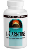 L-Carnitine 500 mg 120 Caps Source Naturals, Energy Production