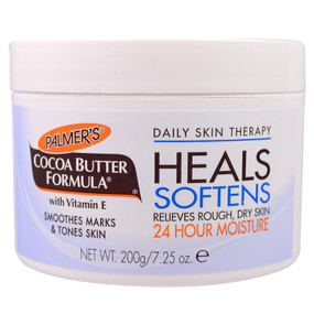 Buy Cocoa Butter Formula 7.25 oz (200 g) Palmer's Online, UK Delivery, Stretch Marks removal Treatment Cream Scars