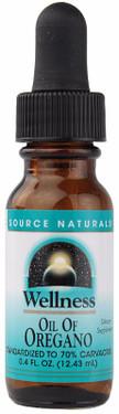 Wellness Oil of Oregano 0.5 oz Oil 70% Carvacrol Source Naturals, UK