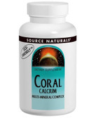 Coral Calcium Multi-Mineral Complex 120 Tabs Source Naturals, UK