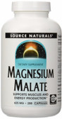 Buy UK Magnesium Malate 625 mg 200 Caps Source Naturals,UK Shop