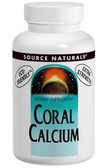 Coral Calcium 1200 mg 60 Tabs, Source Naturals, Eco-Friendly