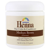 Henna 100% Botanical Hair Color and Conditioner Persian Medium Brown (Chestnut) 4 oz (113 g)