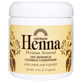 Buy Henna 100% Botanical Colorless Conditioner Persian Neutral 4 oz (113 g) Rainbow Research Online, UK Delivery, Hair Conditioners