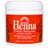 Henna Hair Color and Conditioner Persian Mahogany (113 g)