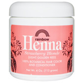 Buy Henna 100% Botanical Hair Color and Conditioner Strawberry Blonde (Light Golden Red) 4 oz (113 g) Rainbow Research Online, UK Delivery, Henna Hair Care Hair Coloring