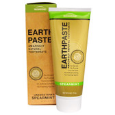 Buy Earthpaste Amazingly Natural Toothpaste Unsweetened Spearmint 4 oz (113 g) Redmond Trading Company Online, UK Delivery, Oral Teeth Dental Care Toothpaste