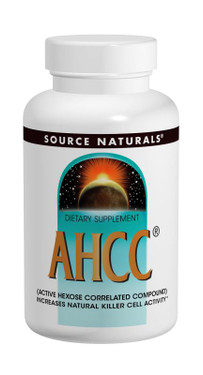 Buy UK AHCC 500 mg 60 Caps Source Naturals, Natural Killer Cell Activity, UK