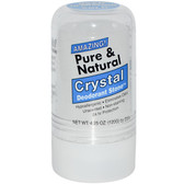 Pure & Natural Crystal Deodorant Stone 4.25 oz (120 g) Thai