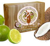 Buy Raw Goat Milk Skin Therapy Shampoo Bar Lime in Coconut 4.2 oz Tierra Mia Organics Online, UK Delivery, Gluten Free Product