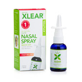 Buy Xylitol Saline Nasal Spray Fast Relief 1.5 oz (45 ml) Xlear (Xclear) Online, UK Delivery, Nasal Wash Congestion Relief Remedies Respiratory Health
