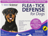 Buy Flea + Tick Defense for Dogs 89-132 lb. 3 Applicators 0.136 oz Each 21st Century Health Care Online, UK Delivery, Pet Supplements For Pets Dogs