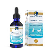 Buy Omega-3 Pet Cats and Small Breed Dogs 2 oz (60 ml) Nordic Naturals Online, UK Delivery, Pet Supplements EFA's for Pets