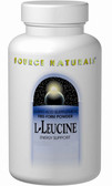L-Leucine 500 mg 120 Caps, Source Naturals, Energy Support