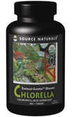 Emerald Garden Organic Chlorella 200 mg 300 Tabs Source Naturals