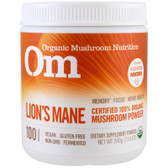 Organic Mushroom Nutrition Lion's Mane 200 g UK Store