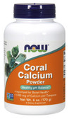 Coral Calcium Pure Powder 6 oz Now Foods, Bones