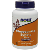 Glucosamine Sulfate 750mg  120 Caps, Now Foods