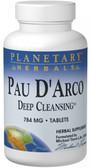 Pau D'Arco Deep Cleansing 735 mg 150 Tabs, Planetary