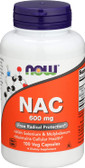 NAC-Acetyl Cysteine 600 mg 100 Caps, Now Foods
