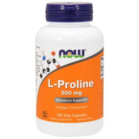 Proline 500 mg, 120 Caps, Now Foods, Joints & Collagen