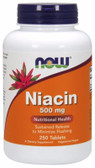 UK Buy Niacin 500 mg, 250 Tabs, Now Foods