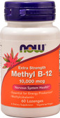Buy UK Now Foods Methyl B-12 10000 mcg 60 Lozenges
