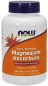 Magnesium Ascorbate, 8 oz, Now Foods