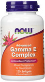 UK Buy Advanced Gamma E, 120 Softgels, Now Foods