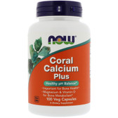 UK Buy Now Foods, Coral Calcium Plus Magnesium, 100 Caps