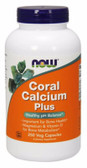 UK Buy Coral Calcium Plus Magnesium, 250 Caps, Now Foods, Bones