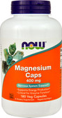 UK Buy  Now Foods, Magnesium 400 mg, 180 Caps