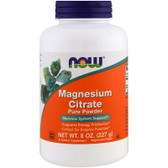 Magnesium Citrate, 8 oz, Now Foods