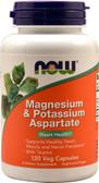 Now Foods, Magnesium Potassium Aspartate, 120 Caps