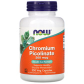 UK Buy  Now Foods, Chromium Picolinate, 200 mcg, 250 Caps