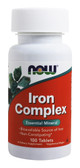 UK Buy Now Foods, Iron Complex, 100 Tabs