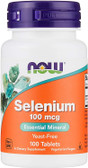 UK buy Selenium 100mcg, 100 Tabs, Now Foods