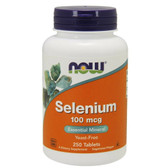 UK Buy Selenium, 100mcg, 250 Tabs, Now Foods