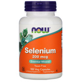 UK Buy Now Foods, Selenium, 200 mcg, 180 Caps