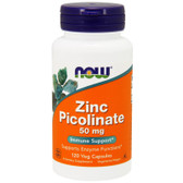 UK buy Zinc Picolinate, 50 mg, 120 Caps, Now Foods