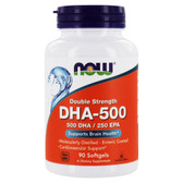 UK Buy DHA 500 mg, 90 Softgels, Now Foods