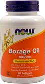 UK Buy Borage Oil 240 mg, 60 Softgels, Now Foods